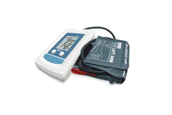 Ciśnieniomierz wyposażony w funkcję wykrywania arytmii serca