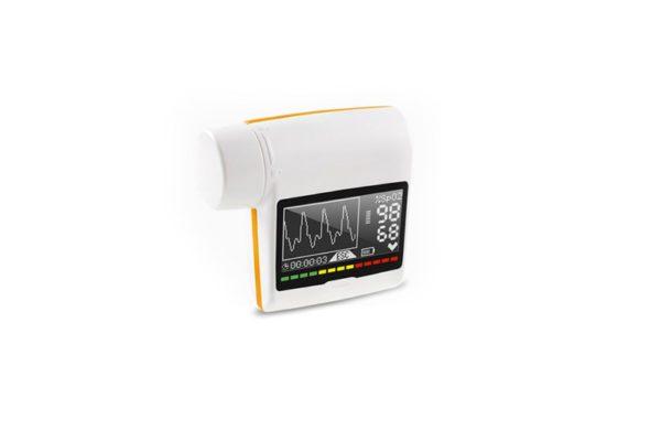 Spirometr do kontroli objawów chorób układu oddechowego
